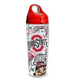 Ohio State Buckeyes Tervis All Over Print Sport Bottle