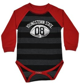 COLLEGE KIDS Youngstown State Striped Raglan Bodysuit