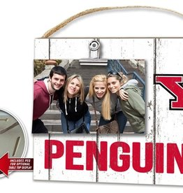KINDRED HEARTS Youngstown State Penguins Clip It Photo Frame