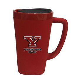 Youngstown State Penguins Red Ceramic Mug