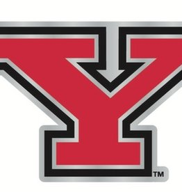 Youngstown State Penguins Laser Cut Auto Badge Decal