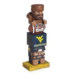 EVERGREEN West Virginia Mountaineers Tiki Totem