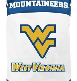 West Virginia Mountaineers Canvas Laundry Basket