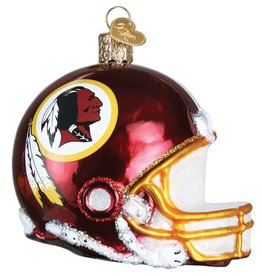 OLD WORLD CHRISTMAS Washington Redskins Helmet Ornament