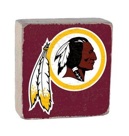RUSTIC MARLIN Washington Redskins Rustic Wood Team Block