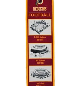Washington Redskins Stadium Heritage Banner