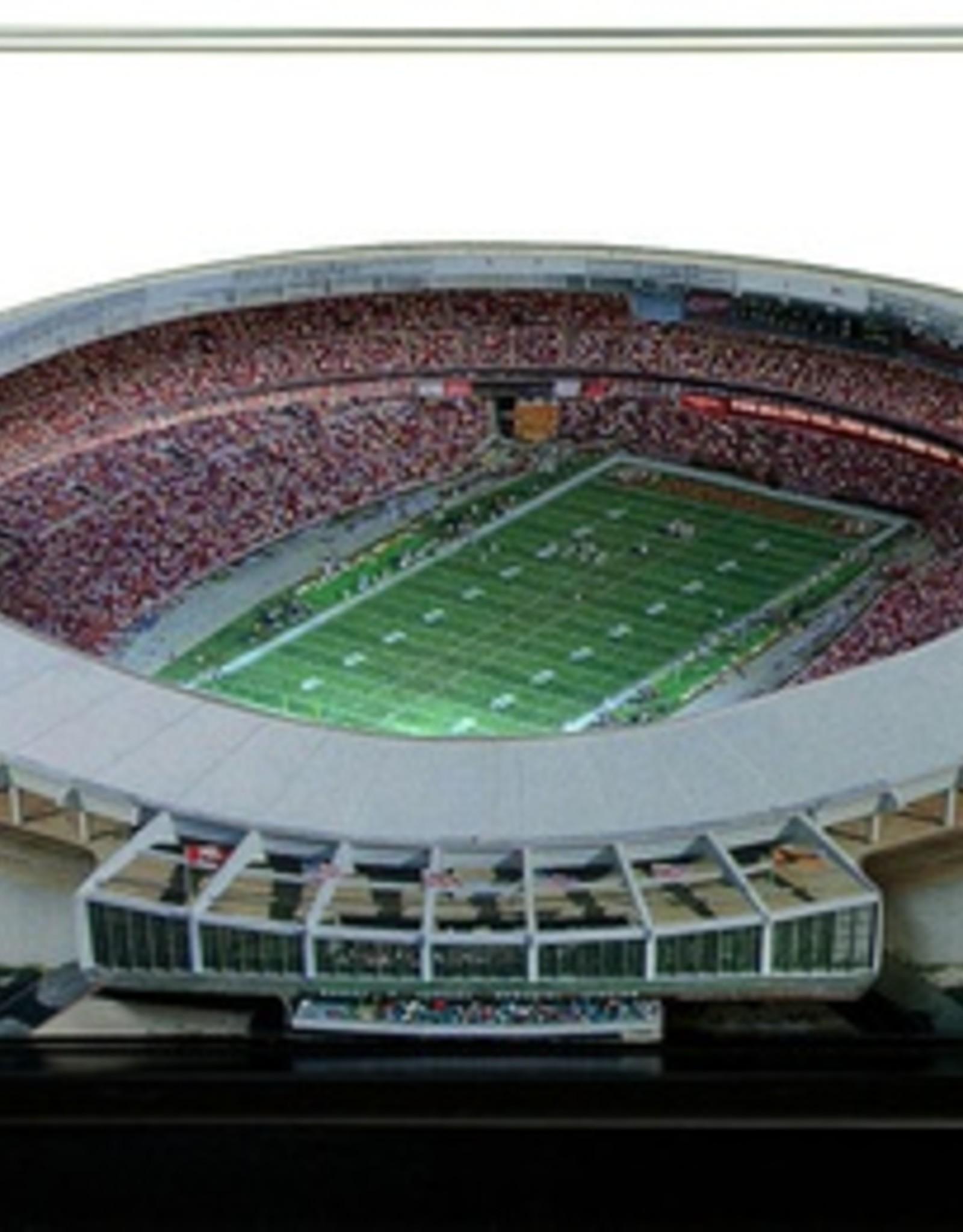 HOMEFIELDS Washington Redskins 19IN Lighted Replica RFK Stadium (1961-1996)