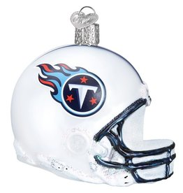 OLD WORLD CHRISTMAS Tennessee Titans Helmet Ornament