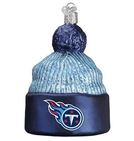 OLD WORLD CHRISTMAS Tennessee Titans Beanie Ornament