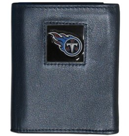Tennessee Titans Executive Black Leather Trifold Wallet