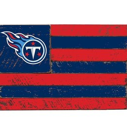 RUSTIC MARLIN Tennessee Titans Rustic Team Flag