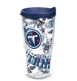 Tennessee Titans 24oz Tervis All Over Print Tumbler