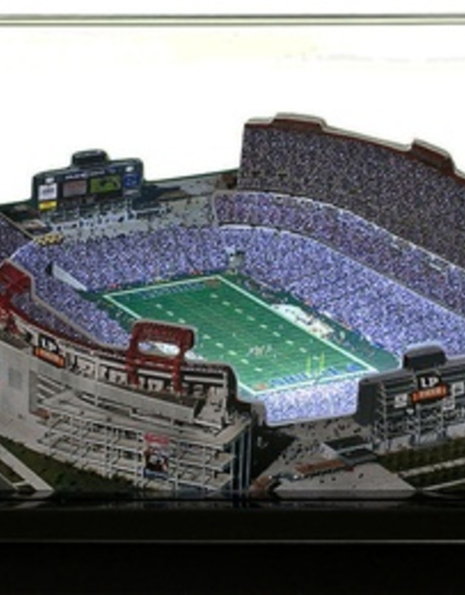 HOMEFIELDS Tennessee Titans 13IN Lighted Replica LP Field