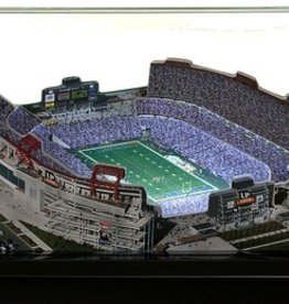 HOMEFIELDS Tennessee Titans 9in Lighted Replica LP Field