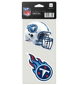 Tennessee Titans Set of Two 4x4 Perfect Cut Decals