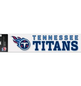"WINCRAFT Tennessee Titans 4""x17"" Perfect Cut Decals"