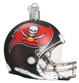 OLD WORLD CHRISTMAS Tampa Bay Buccaneers Helmet Ornament