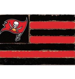 RUSTIC MARLIN Tampa Bay Buccaneers Rustic Team Flag