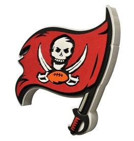 Tampa Bay Buccaneers 3D Foam Logo Sign