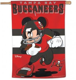 "WINCRAFT Tampa Bay Buccaneers Disney Mickey Mouse 28"" x 40"" House Flag"