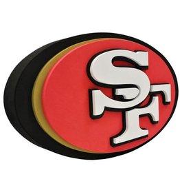 San Francisco 49ers 3D Foam Logo Sign