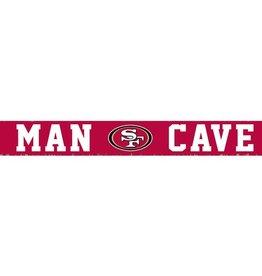 RUSTIC MARLIN San Francisco 49ers Rustic Man Cave Sign
