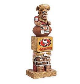 San Francisco 49ers Tiki Totem