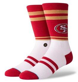STANCE San Francisco 49ers Logo Crew Socks