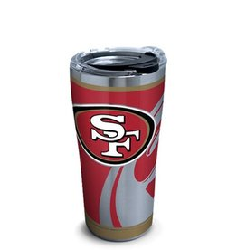 San Francisco 49ers TERVIS 20oz Stainless Steel Rush Tumbler