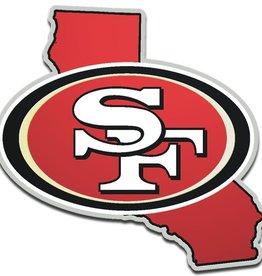 San Francisco 49ers State Auto Emblem
