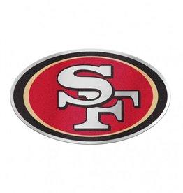 San Francisco 49ers Laser Cut Auto Badge Decal