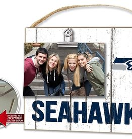 KINDRED HEARTS Seattle Seahawks Clip It Photo Frame