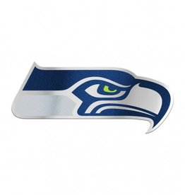 Seattle Seahawks Laser Cut Auto Badge Decal