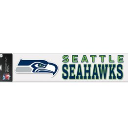 "WINCRAFT Seattle Seahawks 4""x17"" Perfect Cut Decals"