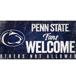 FAN CREATIONS Penn State Nittany Lions Fans Welcome Sign