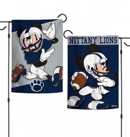 "WINCRAFT Penn State Nittany Lions Disney Mickey Mouse 12.5"" x 18"" Garden Flag"