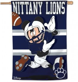 "WINCRAFT Penn State Nittany Lions Disney Mickey Mouse 28"" x 40"" House Flag"