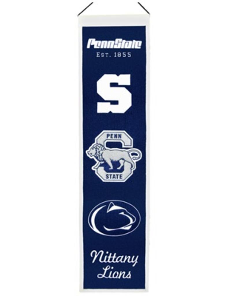 WINNING STREAK SPORTS Penn State Nittany Lions Heritage Banner