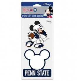 WINCRAFT Penn State Nittany Lions Set of Two DISNEY 4x4 Perfect Cut Decals