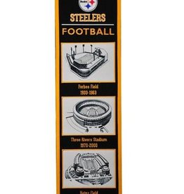 Pittsburgh Steelers Stadium Heritage Banner