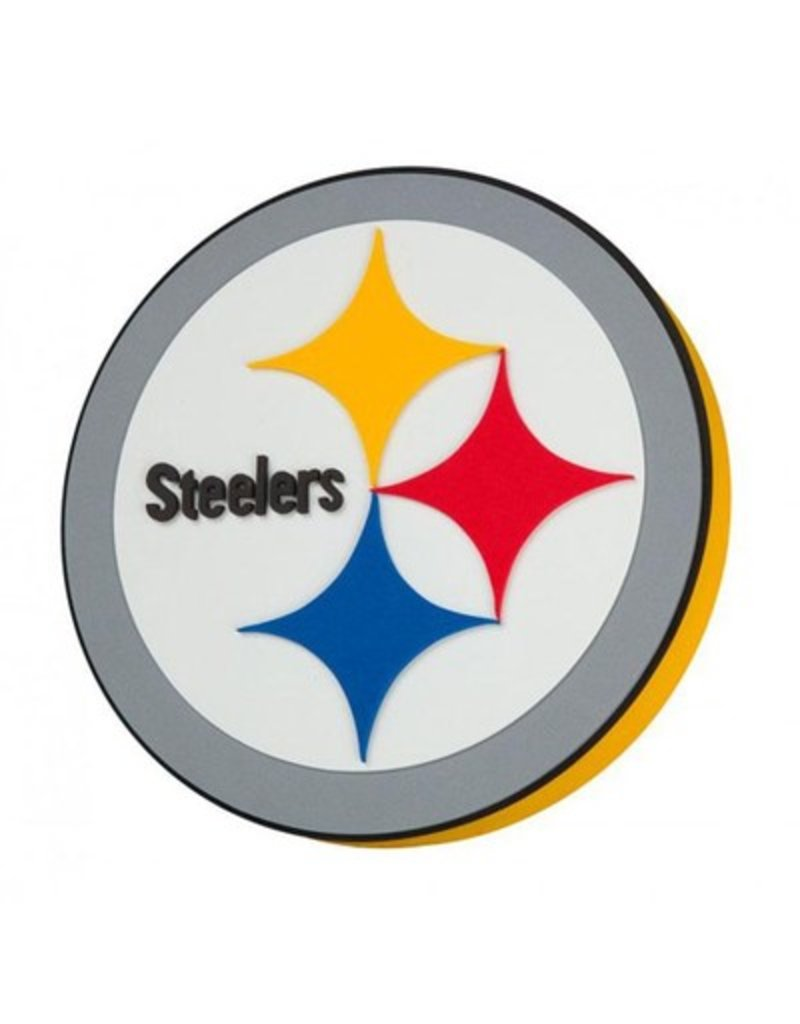 ee7313b7 Pittsburgh Steelers 3D Foam Logo Sign