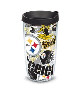 Pittsburgh Steelers 16oz Tervis All Over Print Tumbler