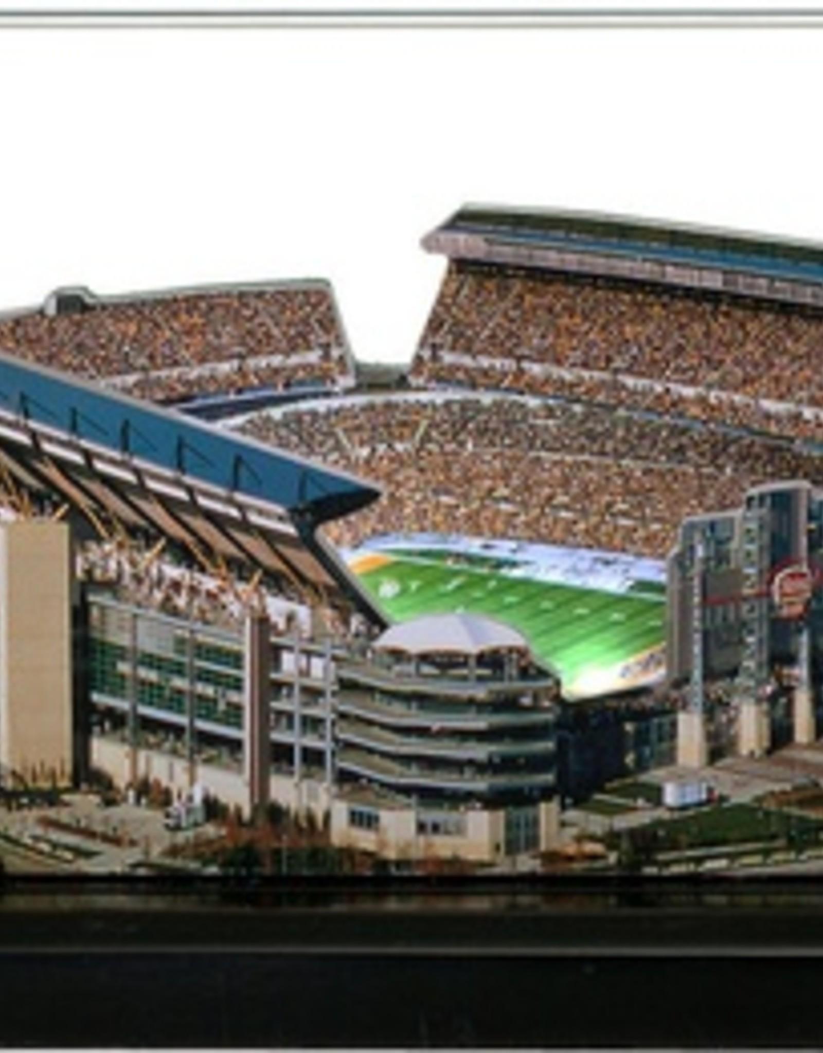 HOMEFIELDS Pittsburgh Steelers 9in Lighted Replica Heinz Field