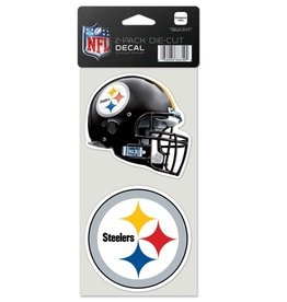 Pittsburgh Steelers Set of Two 4x4 Perfect Cut Decals