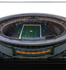HOMEFIELDS Pittsburgh Steelers 19IN Lighted Replica Three Rivers Stadium (1970-2000)