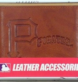 RICO INDUSTRIES Pittsburgh Pirates Genuine Leather Vintage Billfold Wallet