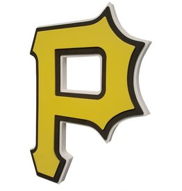Pittsburgh Pirates 3D Foam Logo Sign