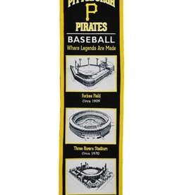 Pittsburgh Pirates Stadium Heritage Banner