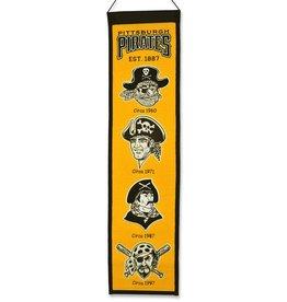 WINNING STREAK SPORTS Pittsburgh Pirates Heritage Banner
