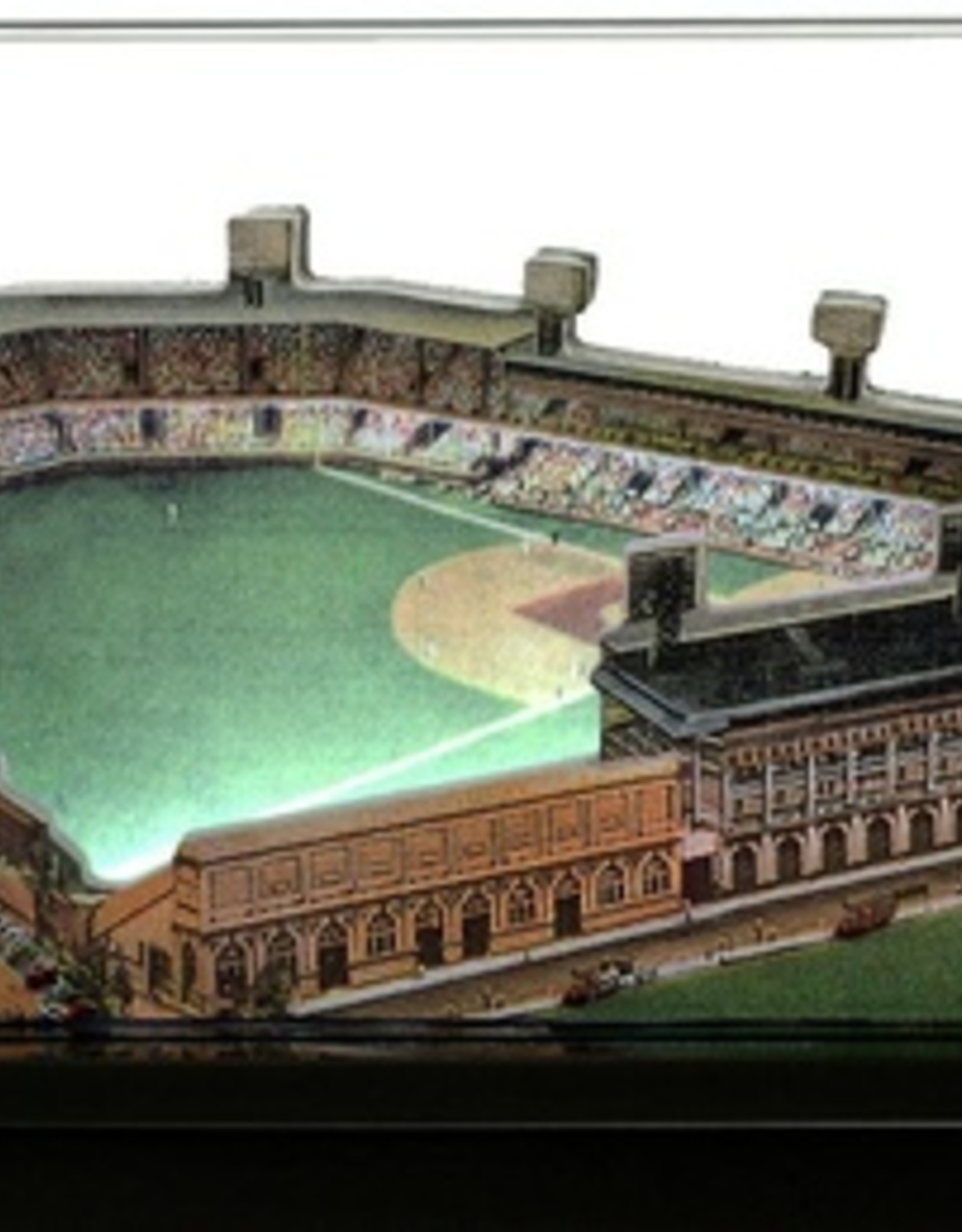 HOMEFIELDS Pittsburgh Pirates 9in Lighted Replica Forbes Field (1909-1970)